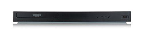 LG UBK90 Ultra HD 4K Blu-ray-Player (mit HDR, Dolby Vision und Dolby Atmos) schwarz