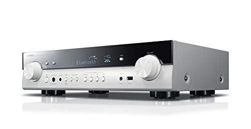 Yamaha AV-Receiver RX-S602 MC weiß – Slimline Netzwerk-Receiver mit kraftvollem 5.1 Surround-Sound - für packendes Home Entertainment – Music Cast und Alexa kompatibel