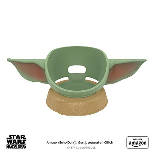 """Brandneuer Ständer """"Made for Amazon"""" für Amazon Echo Dot (4. Gen.), inspiriert von Star Wars The Mandalorian Baby Grogu™"""
