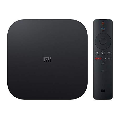 Xiaomi Mi Box S Multimedia Streaming Player 4K Ultra HD mit Sprachsteuerung, Schwarz MDZ-22-AB