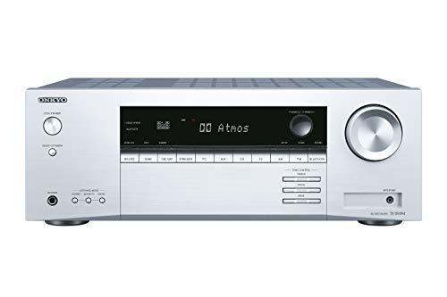 Onkyo TX-SR494(S) 7.2 Kanal AV Receiver (Dolby/DTS:X, AccuEQ, AccuReflex, 4K, Bluetooth, 160 W/Kanal) Silber