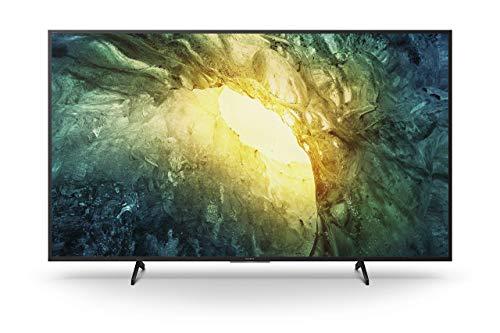 Sony KD-55X7055 Bravia 139 cm (55 Zoll) Fernseher (LED, 4K Ultra HD (UHD), High Dynamic Range (HDR), Smart TV, 2020 Modell) Schwarz