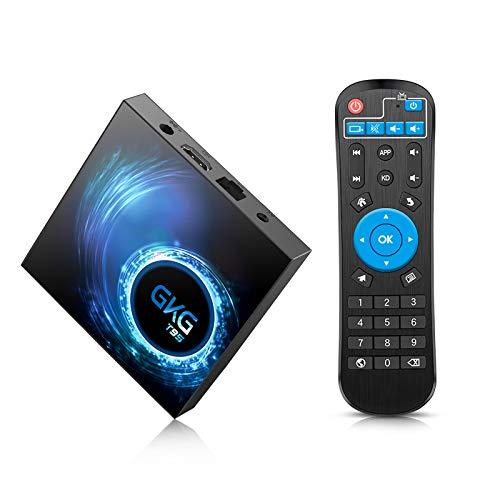 Android TV Box 10.0, GKG T95 TV-Box 4GB RAM 32GB ROM mit Allwinner H616 Quad-Core 64-Bit-Unterstützung 6K 3D Wi-Fi 2,4 GHz Android Box