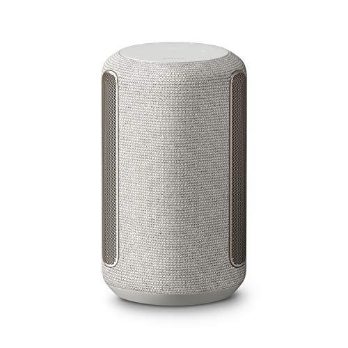 Sony SRS-RA3000 Bluetooth Premium Lautsprecher mit Multiroom Unterstützung (raumfüllender Klang, 360 Reality Audio, Wi-Fi, feuchtigkeitsbeständig) Grau