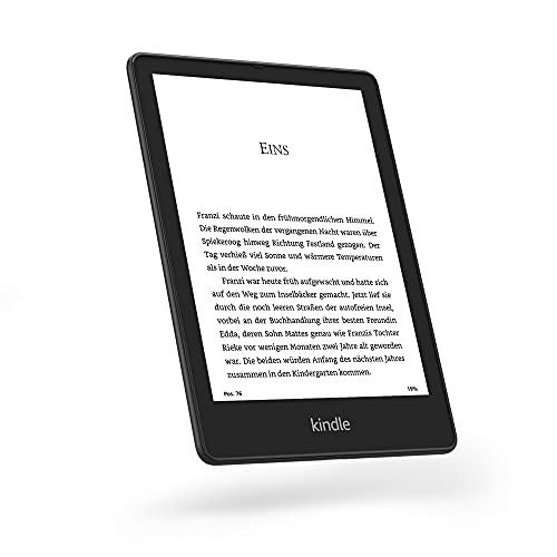 Wir stellen vor: Kindle Paperwhite Signature Edition (32 GB) – Mit 6,8 Zoll (17,3 cm) großem Display, kabelloser Ladefunktion und Frontlicht mit automatischer Anpassung – ohne Werbung