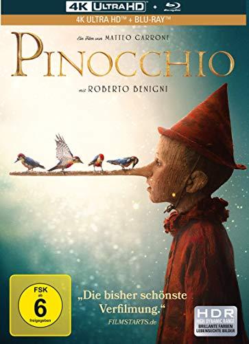 Pinocchio - 2-Disc Limited Mediabook (4K Ultra HD) ( + Blu-ray 2D)
