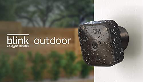 Blink Outdoor – kabellose, witterungsbeständige HD-Sicherheitskamera mit zwei Jahren Batterielaufzeit und Bewegungserfassung |1 Kamera