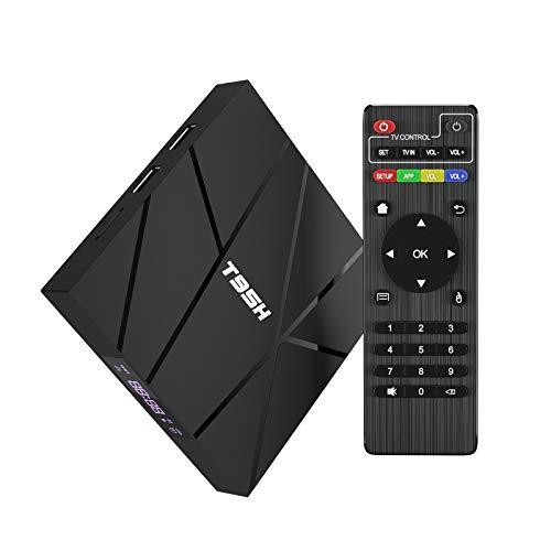2020 Android Tv Box 10.0, T95H 1 GB RAM 8 GB ROM Allwinner H616 Quad-Core-Smartbox 64-Bit, Unterstützung 6K, H.265, 3D, 2,4 G WiFi, 10 / 100M Ethernet usw.