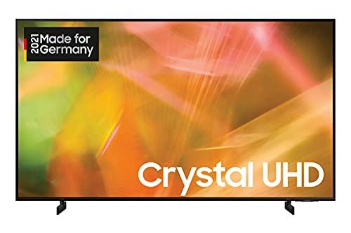 Samsung Crystal UHD 4K TV 60 Zoll (GU60AU8079UXZG), HDR, AirSlim, Dynamic Crystal Color [2021]