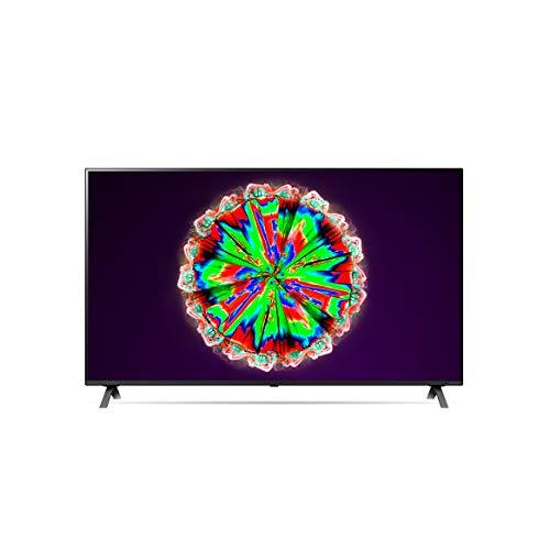 LG 55NANO806NA 139 cm (55 Zoll) NanoCell Fernseher (4K, Triple Tuner (DVB-T2/T,-C,-S2/S), Active HDR, 50 Hz, Smart TV) [Modelljahr 2020]
