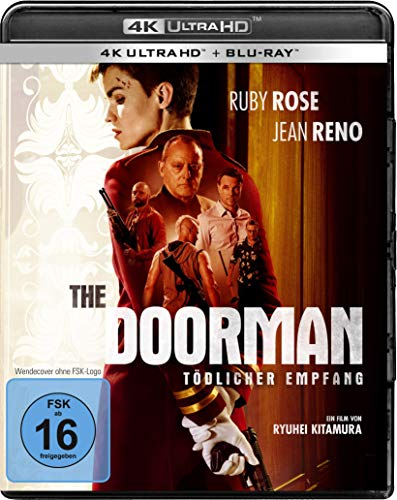 The Doorman – Tödlicher Empfang (4K Ultra HD) (+ BR) [Blu-ray]