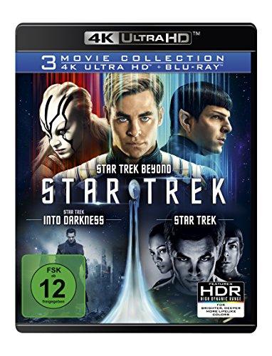 Star Trek - 3-Movie Collection (4K Ultra HD) (3 Blu-ray 4K) (+ 3 Blu-ray 2D)