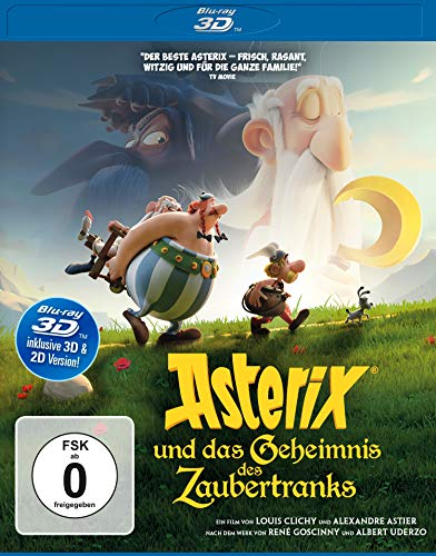 Asterix und das Geheimnis des Zaubertranks  (inkl. 2D-Version) [3D Blu-ray]