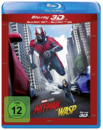 Ant-Man and the Wasp [3D Blu-ray]