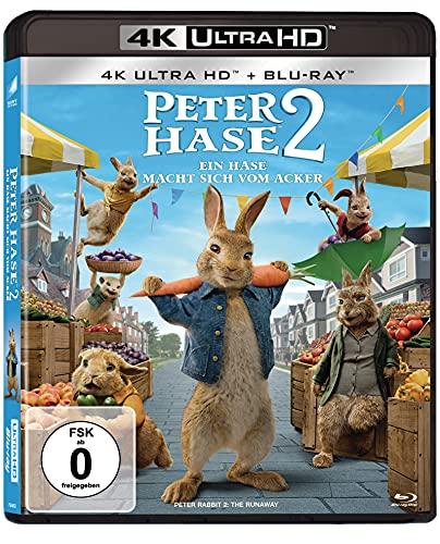 Peter Hase 2 - Ein Hase macht sich vom Acker (4K Ultra HD) (+ Blu-ray 2D)