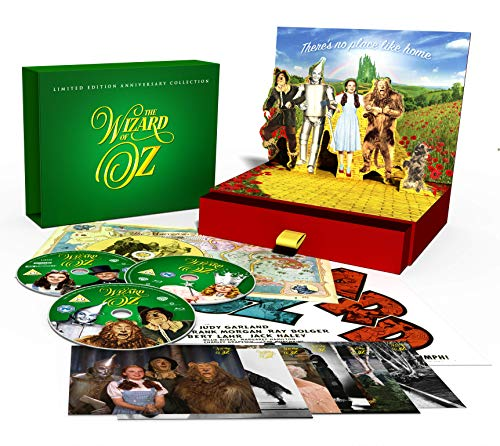 The Wizard Of Oz [Limited Edition Anniversary Collection] [4K Ultra HD] [1939] [Blu-ray] [2019] [Region Free]