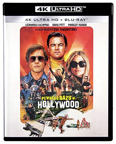 Once Upon a Time in Hollywood 4K UHD [Blu-Ray] [Region Free] (IMPORT) (Keine deutsche Version)