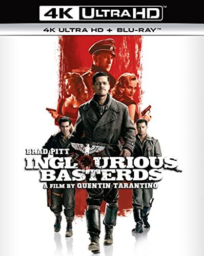 Inglourious Basterds [4K Ultra HD] [2009] [Blu-ray] [Region Free]