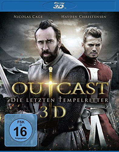 Outcast - Die letzten Tempelritter (inkl. 2D-Version) [3D Blu-ray]