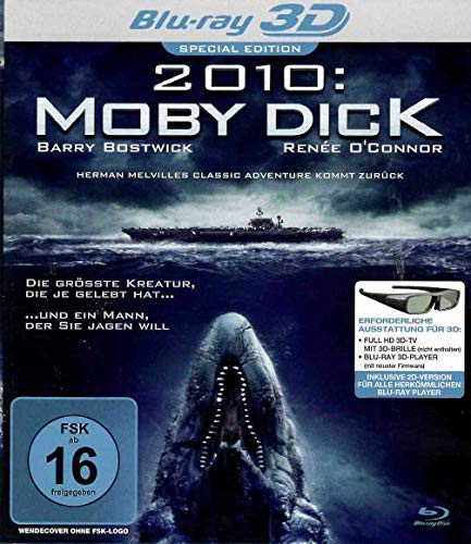 Moby Dick 2010 Blu-ray 3D
