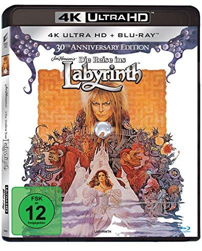 Die Reise ins Labyrinth - 30th Anniversary Edition (4K Ultra HD) [+ Blu-ray 2D]