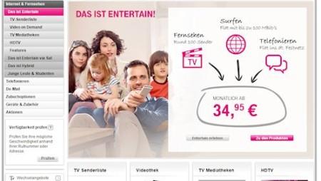 Streaming Check: Telekom Entertain