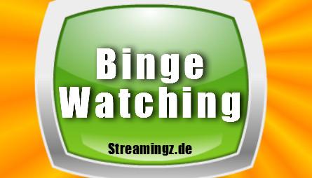 Binge-Watching: das ununterbrochene Schauen von Serien