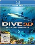 Dive 3D – Im Reich der wilden Haie (3D Version inkl. 2D Version & 3D Lenticular Card) [3D Blu-ray]