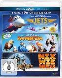Überflieger-Box – Zambezia, Jets, Nix wie weg [3D Blu-ray]