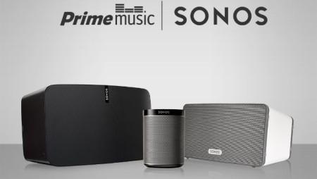 Amazon Prime Music jetzt verfügbar auf Sonos
