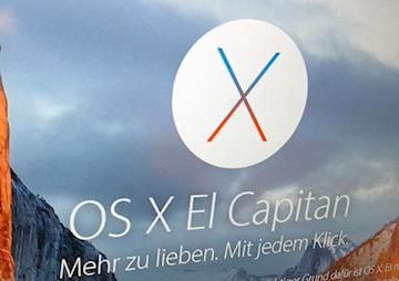 Update für OS X 10.11.5 verfügbar