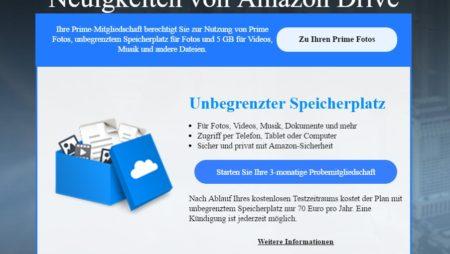 Amazon Drive: Ab sofort unbegrenzten Online-Speicherplatz