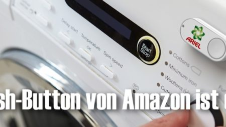 Dash-Button: Bei Amazon auf Knopfdruck bestellen
