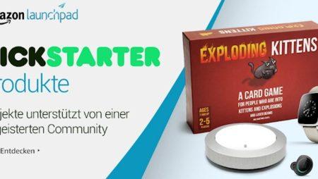 Amazon Launchpad führt Kickstarter-Collection ein