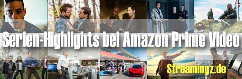 Serien-Highlights bei Amazon Prime Video: diese Serien müssen Sie sehen