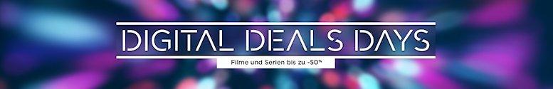 Digital Deals Days – bis zu 50 % Rabatt bei Amazon Video
