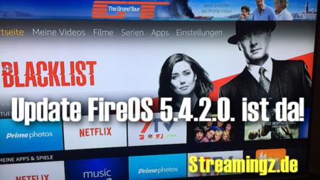 FireOS 5.4.2.0.: Update für Fire TV bringt neue Benutzerführung