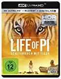 Life of Pi – Schiffbruch mit Tiger  (4K Ultra HD (+ Blu-ray)