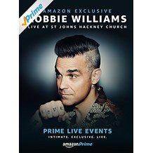 Prime Live Events Robbie Williams
