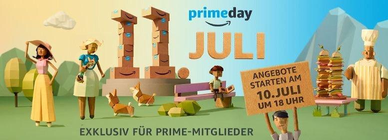 Amazon Prime Day 2017: Angebotsmarathon für 30 Stunden