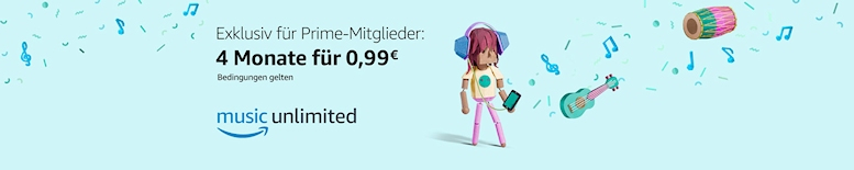 Amazon Music Unlimited 4 Monate für 99 Cent