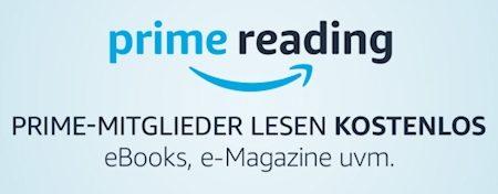 Amazon Prime Reading: Prime-Mitglieder erhalten kostenlosen Lesestoff