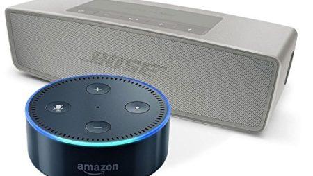 Bose SoundLink Mini oder SoundTouch 10 mit Echo Dot im Bundle