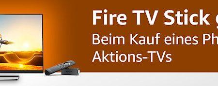 Beim Kauf eines Philips-TV: Fire TV Stick kostenlos dazu