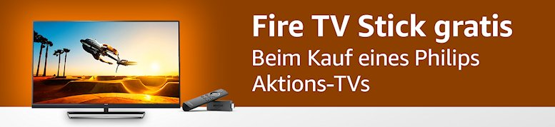 philips tv mit fire tv stick