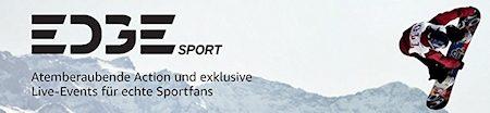 EDGEsport: Neuer Amazon Channel zeigt aktuelle Extremsportarten
