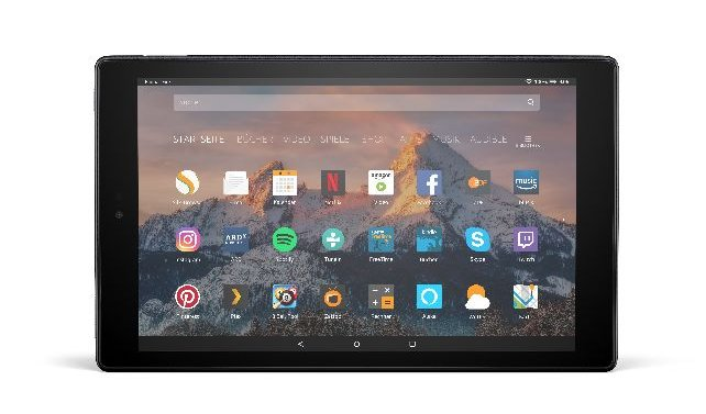 fire Tablet HD 10 Ansicht