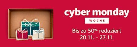 Cyber Monday Woche: Ab 20. November 2017 geht es los!