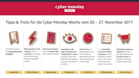 Cyber Monday Woche: die besten Tipps und Tricks beim Shoppen