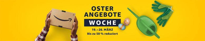 Am 19. März startet die Oster-Angebote-Woche bei Amazon.de
